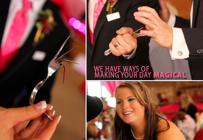 We have ways of making your big day magical