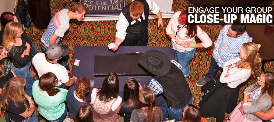 Add High Impact Close-Up Magic to you next event